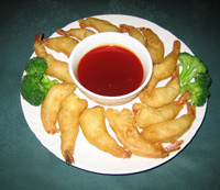 32. Deep Fried Crispy Prawns
