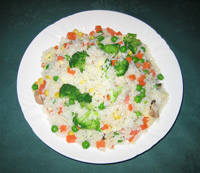 107. Vegetable Fried Rice